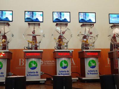 Sorteadores en la Loteria de Buenos Aires